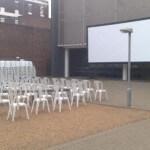 cinema screen hire