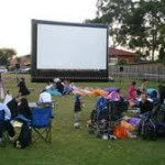 inflatable screen hire uk