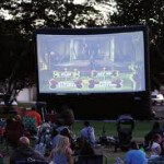 mobile outdoor cinema