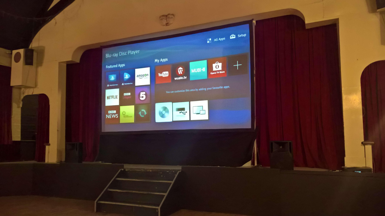 Mobile Cinema Screen Hire